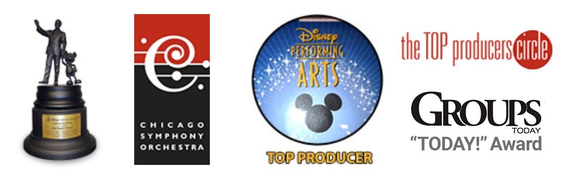 top producers for Broadway, Disney Performing Arts and the Chicago Symphony Orchestra