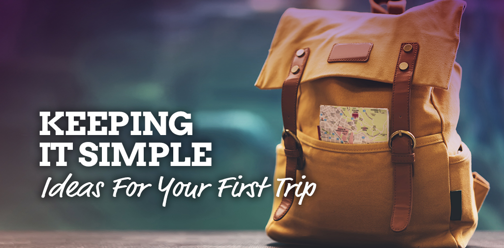 Test-run travel – simple options for your first trip