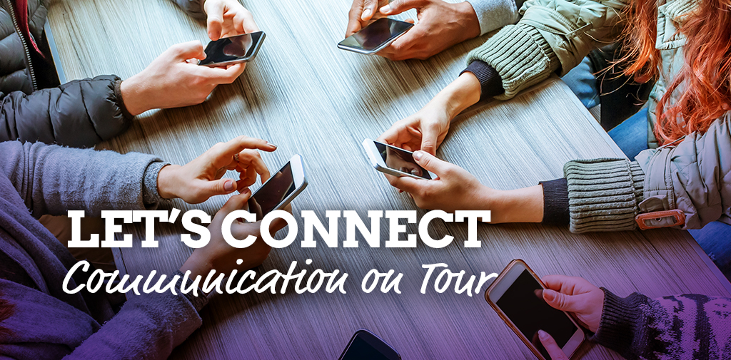 Stay connected – Communication on tour