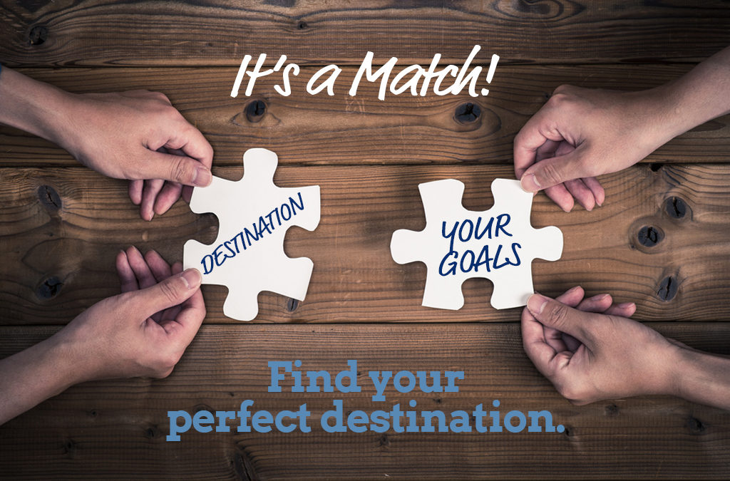 It's a match! Finding the ideal destination for your student group