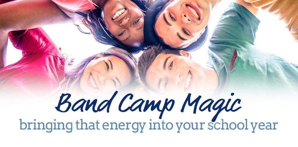 Capturing that band camp magic, year-round