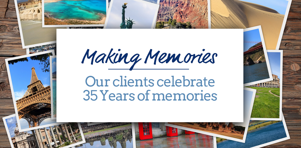 In their words – our clients help us celebrate 35 years