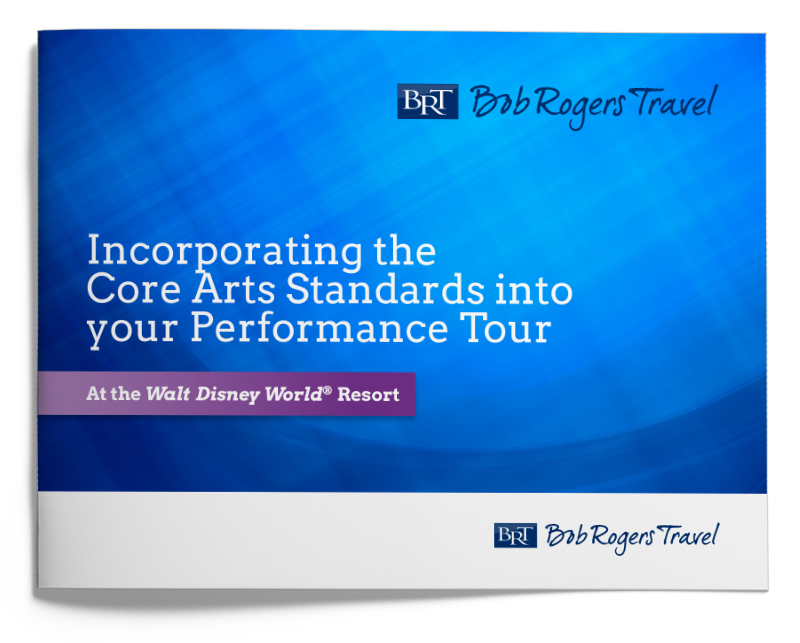Performance travel planning guide - Core Arts Standards Disney