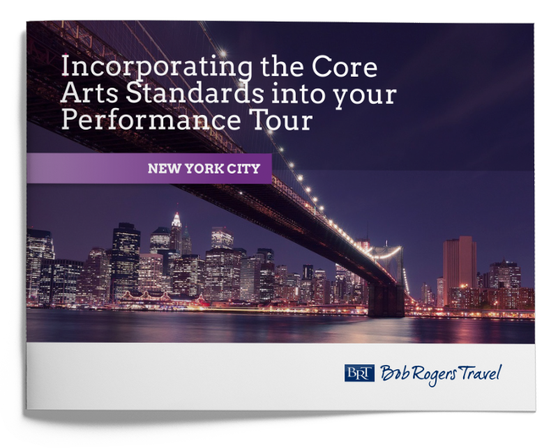 Performance travel planning guide - Core Arts Standards New York City