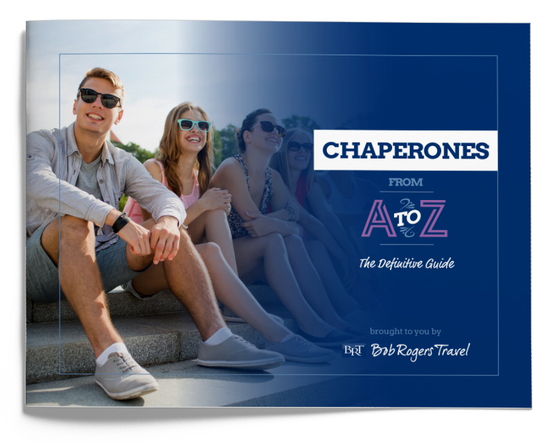 Performance travel planning guide - Chaperones