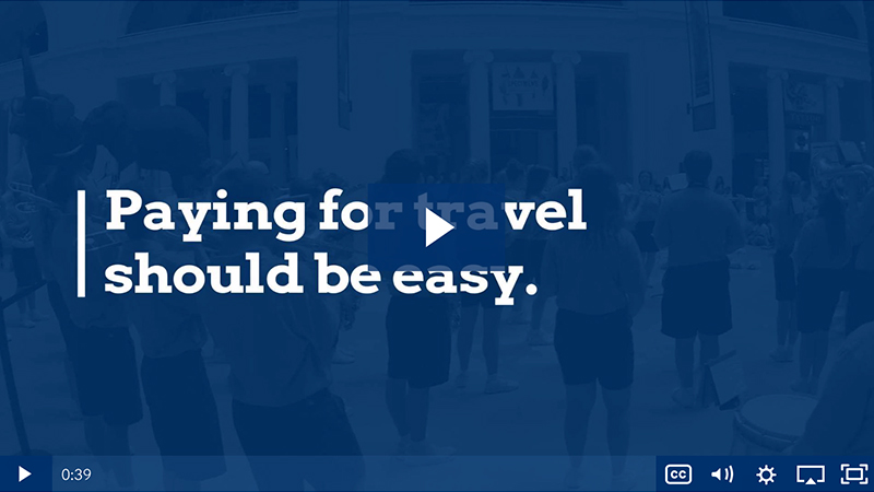 Performance travel video - BRT Makes Payments Easy