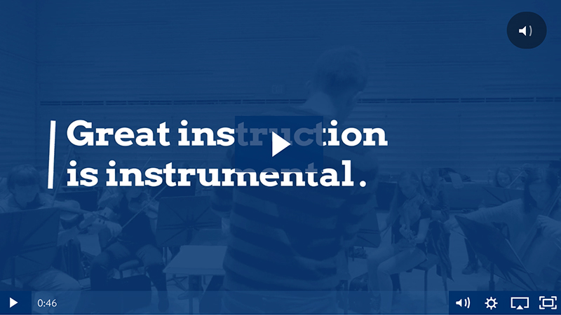 Performance travel video - Great Instruction is Instrumental