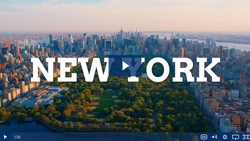 Performance travel video - New York City