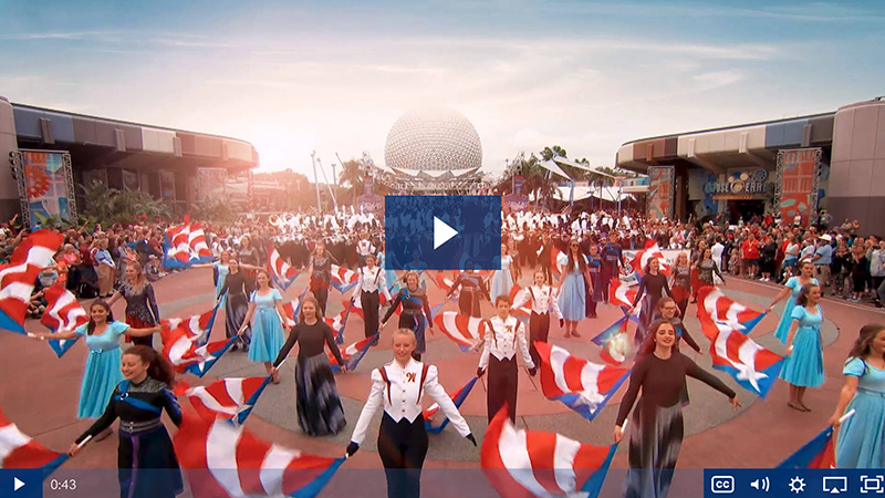 Performance travel video - Thanksgiving Parade of Bands Highlights