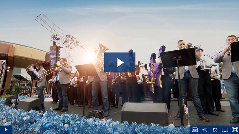 Performance travel video - Presidio Brass